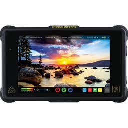 "Atomos Shogun Inferno 7"" 4K HDMI/Quad 3G-SDI/12G-SDI Recording Monitor incl Travel Case, Drive Caddy and XLR Cable"