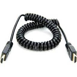 "Atomos AtomFLEX HDMI (Type-A) Male to HDMI (Type-A) Male Coiled Cable (16 to 32"")"
