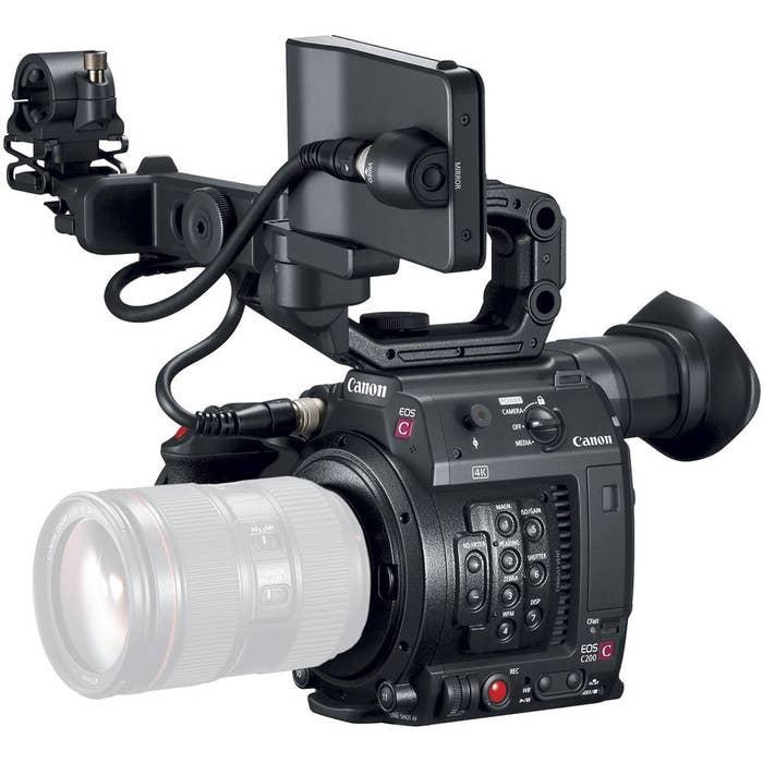 Canon EOS C200 EF Cinema Camera Body