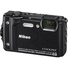 Nikon COOLPIX W300 Digital Camera (Black) with Nikon Silicone Protection Jacket.