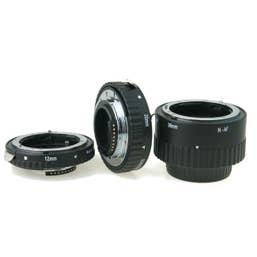 Phottix Extension Tubes AF Macro Nikon - 3 Ring Set  - for Extreme Close-Up Photography