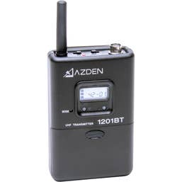 Azden 1201BT - Beltpack Transmitter for 1201 Series Receivers