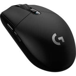 Logitech G305 Lightspeed Wireless Gaming Mouse (Black)