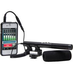 Azden SGM-990+i Shotgun Microphone for Mobile Device Recording
