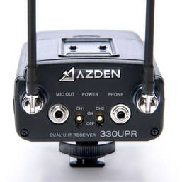 Azden 330LH UHF On-Camera Handheld and Bodypack System
