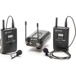 Azden 330LT UHF On-Camera Dual Bodypack System