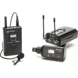 Azden 330LX UHF On-Camera Plug-In and Bodypack System