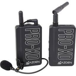 Azden PRO-XD Digital Wireless Microphone System 2.4 GHz Tx-Rx Kit -  Lavalier System
