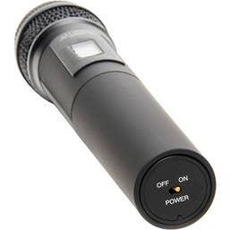 Azden 35HT UHF Handheld Microphone (566.125 - 589.875 MHz)