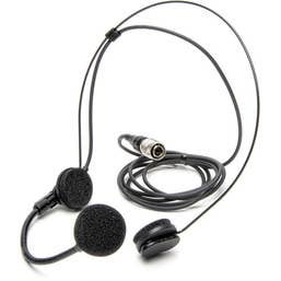 "Azden HS-11H Unidirectional Headset Microphone with 4-Pin ""HIROSE"" Connector"