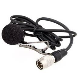 Azden EX-505UH Unidirectional Lavalier Microphone with 4-Pin Connector
