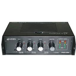 Azden FMX-32A 3-Channel Portable Field Mixer