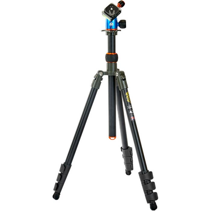 3 Legged Thing Punks Patti Tripod with AirHed Mini Ball Head (Gray and Blue with Copper Accents)