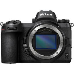 Nikon Z7 Camera Body and Nikon NIKKOR Z 50mm f/1.8 S