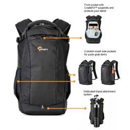 Lowepro Flipside 200 AW-II Backpack - Black