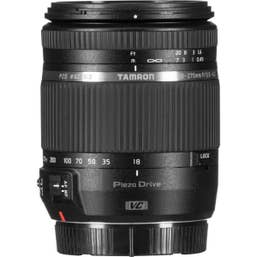 Tamron AF 18-270mm f/3.5-6.3 DI II VC PZD Lens - Nikon B008TSN 15x zoom lens, fluorine coating, vc image stabiliser.