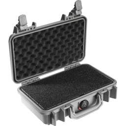 Pelican 1170 Case with Foam - Silver (1170S)