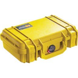 Pelican 1170 Case with Foam - Yellow  (1170Y)