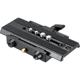 Manfrotto 357-1 Rapid Connect Adapter with 357PLV-1 Camera Plate