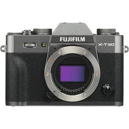 Fujifilm X-T30 Body Only - Charcoal Grey