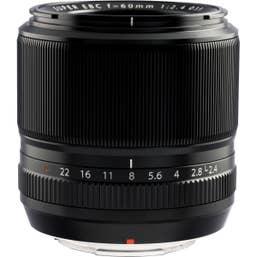 Fujifilm - XF 60mm f/2.4 Macro Lens