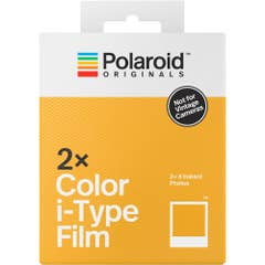 Polaroid Originals Colour Film for I type cameras (No batteries) - Suits i-1 and One Step 2 Cameras - Double Pack