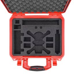 HPRC 2300 Hard Case of DJI Spark Fly More Combo - Red