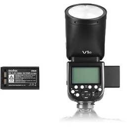 Godox V1 TTL Li-Ion Round Head Camera Flash for Fuji