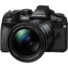 Olympus E-M1 Mk II with 12-200mm Lens - Black