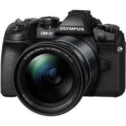 Olympus E-M1 Mk II with 12-200mm Lens - Black