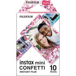 Fujifilm instax mini Confetti Film 10 Pack Suitable for instax mini Cameras