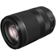 Canon RF 24-240mm f/4-6.3 IS USM Lens featuring Nano USM, Dynamic IS and round 7-bladed aperture for smooth bokeh.