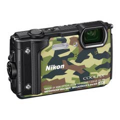 Nikon COOLPIX W300 Digital Camera (Camouflage) with Nikon Silicone Protection Jacket.