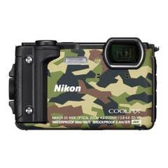 Nikon COOLPIX W300 Digital Camera (Camouflage)with Nikon Silicone Protection Jacket