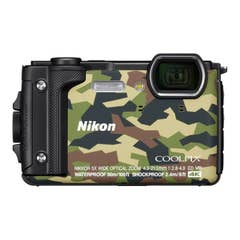 Nikon COOLPIX W300 Digital Camera (Camouflage) with Nikon Silicone Protection Jacket