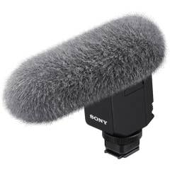 Sony ECMB1M Shotgun Mic equipped with eight high-performance mic capsules and advanced digital signal processing