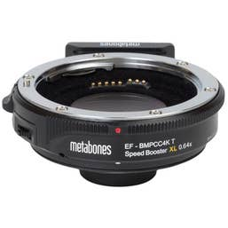Metabones Canon EF to MFT BMPCC4K T Speed Booster XL 0.64x (Black) MB-161