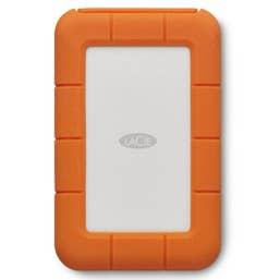 LaCie 4TB Rugged Thunderbolt & USB-C Portable External Hard Drive