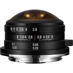 Laowa 4mm f/2.8 MFT Circular Fisheye