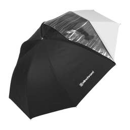 Elinchrom 85cm White/Translucent Shallow Umbrella
