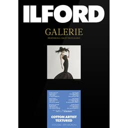 Ilford Galerie Cotton Artist Textured 310gsm 13x19 A3 plus 25 Sheets GPCAT23