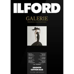 """Ilford Galerie Smooth Cotton Rag 310gsm 44"""" 111.8cm x 15m Roll GPSC19"""