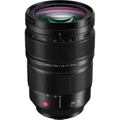 Panasonic LUMIX S PRO 24-70mm F2.8 Lens new professional zoom from Panasonic featuring a f2.8 aperture and weather-sealing.