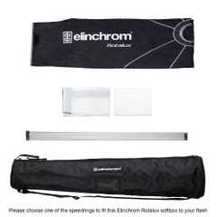 Elinchrom Rotalux Octabox 100cm  (No Speedring Included)