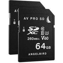 ANGELbird AV PRO SD MK2 64GB V60  2 PACK