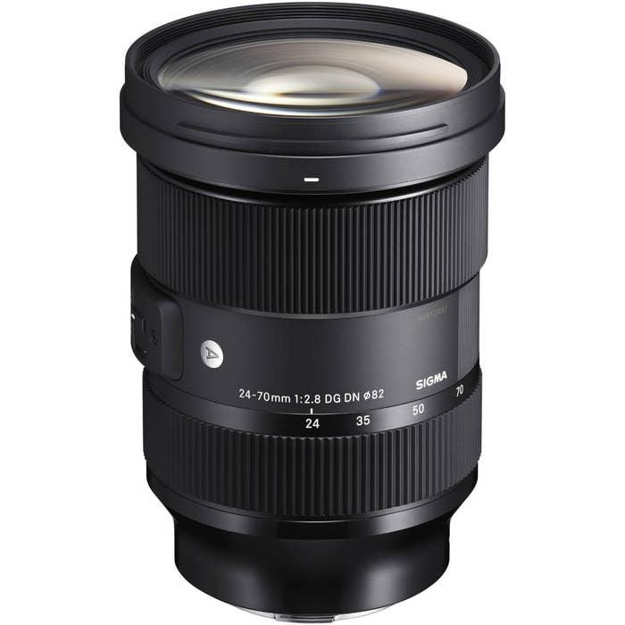 Sigma 24-70mm f/2.8 DG DN Art Lens for Sony E-Mount