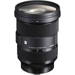 Sigma 24-70mm f/2.8 DG DN Art Lens for L-Mount