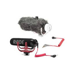 Rode VideoMic GO On-Camera Microphone with Deadcat and SC7 Adaptor - Bundle
