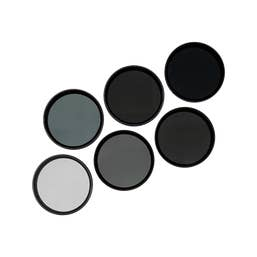 PolarPro 6-Pack Filter Kit for DJI Osmo & Inspire1 - X3 & Z3 (ND8, 16,32, PL,ND8/PL, ND16/PL)