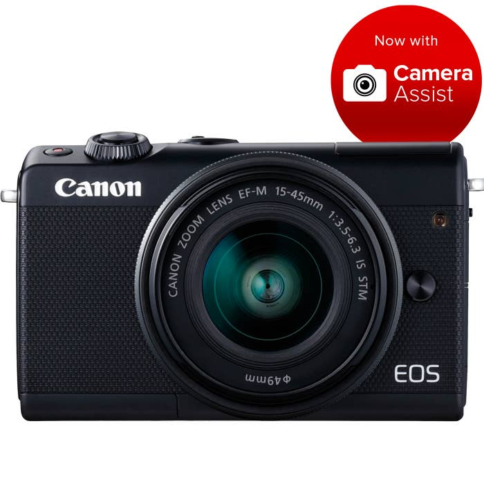 Canon M100 and lens